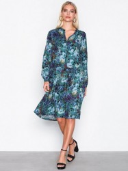 MOSS COPENHAGEN Aura Dress Loose fit Blue