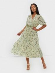 MOSS COPENHAGEN Blossom Rosalie SS Dress AOP Maxikjoler