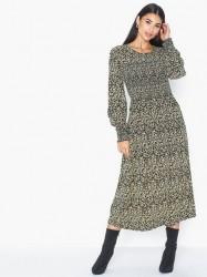 MOSS COPENHAGEN Celina Morocco LS Smock Dress AOP Langærmede kjoler