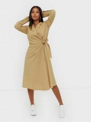 MOSS COPENHAGEN Charlie LS Wrap Dress Maxikjoler