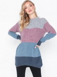 MOSS COPENHAGEN Ellen Alpaca Stripe Pullover Strikkede trøjer