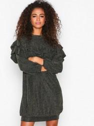 MOSS COPENHAGEN Jessica Dress Loose fit Black/Gold