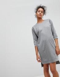 Moss Copenhagen Jumper Dress - Grey