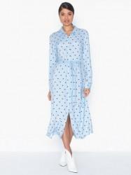 MOSS COPENHAGEN Nakita Leia LS Shirt Dress AOP Langærmede kjoler