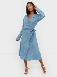 MOSS COPENHAGEN Philippa LS Wrap Dress Maxikjoler