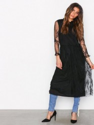 MOSS COPENHAGEN Sabria Lace Dress Kjoler Black