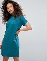 Moss Copenhagen T-Shirt Dress - Blue
