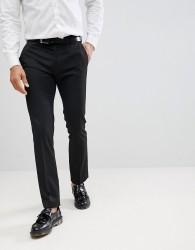 Moss London Skinny Smart Trousers - Grey