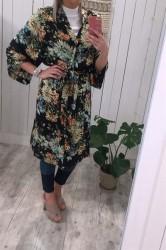 Moves by Minimum - Kimono - Briska Blazer - Black