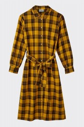 Moves By Minimum - Kjole - Kilana Dress - Yolk Yellow