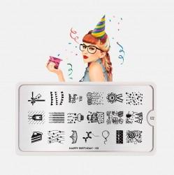 MoYou London Nail Tool - Stamping Nail Art Plates