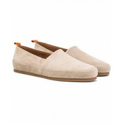Mulo Suede Loafer Natural