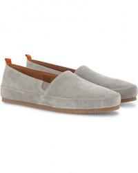 Mulo Suede Loafers Grey men 45