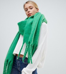 My Accessories green super soft extra long scarf - Green