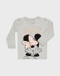 Name it lagærmet Minnie Sofia T-shirt