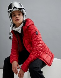 Napapijri Aerons Hooded Jacket In Red - Red