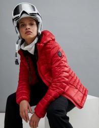 Napapijri Aerons Hooded Jacket In Red - Red