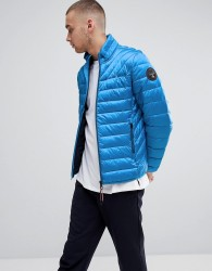 Napapijri Aerons Quilted Jacket in Blue - Blue