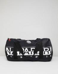 Napapijri Bering 1 Packable Duffel Bag In Black - Black