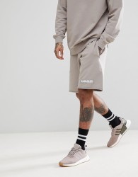 Napapijri Naray Sweat Short In Grey - Grey