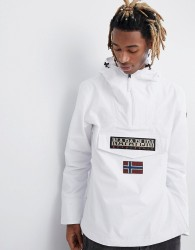 Napapijri Rainforest Jacket In White - White