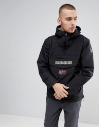 Napapijri Rainforest Pocket Jacket in Black - Black