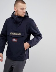 Napapijri Rainforest Pocket Jacket in Navy - Blue
