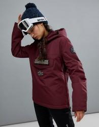 Napapijri Rainforest Winter Jacket In Burgundy - Red
