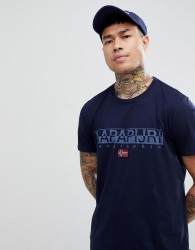 Napapijri Sapriol T-Shirt In Navy - Navy