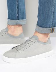 Native Monaco Low Trainers - Grey