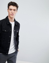 Native Youth Classic Denim Jacket - Black