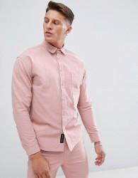Native Youth co-ord large pocket shacket - Pink