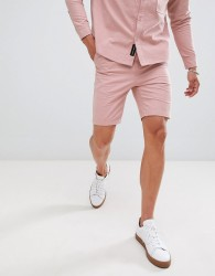 Native Youth co-ord pleated shorts - Pink