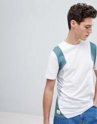 Native Youth Colour Block T-Shirt - White
