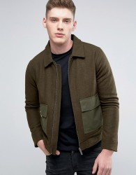 Native Youth Combat Jacket - Green