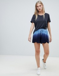 Native Youth dip dye shorts - Blue