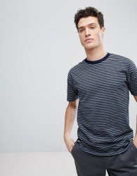 Native Youth Dropped Shoulder Stripe T-Shirt - Stone