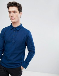 Native Youth Half Placket Shirt - Navy