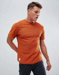 Native Youth short sleeve sweatshirt - Orange