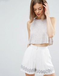 Native Youth Slub Yarn Swing Top - Pink