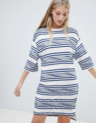 Native Youth striped t shirt dress - Multi