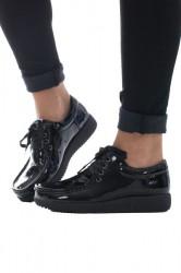 Nature - Sko - Anna Patent Leather Black
