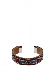 Naya Wide Beaded Cuff