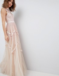 Needle & Thread Daisy Shimmer Gown - Pink