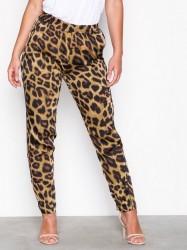 Neo Noir Fran Leo Pants Bukser Leopard