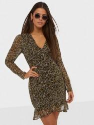 Neo Noir Funda Mini Daisy Dress Langærmede kjoler