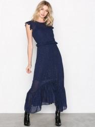 Neo Noir Gerda Dot Dress Festkjoler Blue