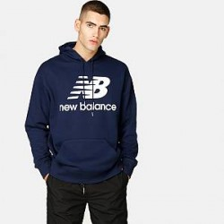 New Balance Hoodie - Essentials Stacked FT