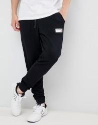 New Balance small logo joggers in black MP83515_BK - Black