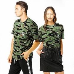 New Black T-Shirt - Tiger